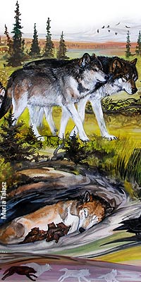 What is a Wolf Personality Like? | Wolf Song of Alaska